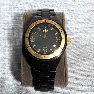 adidas Black Gold 35mm Women's Analog Watch